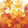 Векторный клипарт: Осень фоне