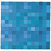 Векторный клипарт: Синий фон мозаики