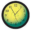Векторный клипарт: Обои для рабочего концепция часы