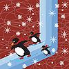Векторный клипарт: Сновидение зимы
