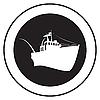 Emblem of an old ship