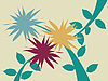 Vector clipart: Floral abstract