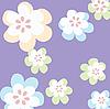 Vector clipart: Floral background illustration, image