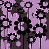 Vector clipart: floral icon for web