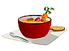 Vector clipart: Soup graphic