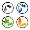 Vector clipart: Graphic icons