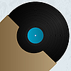 Vector clipart: Vinyl and cover
