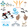 Vector clipart: Funny animals