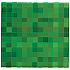 Vector clipart: Green mosaic background