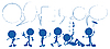 Vector clipart: Blue people talking