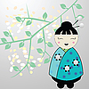 Vector clipart: japanese