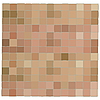 Vector clipart: Light brown mosaic background
