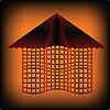 Vector clipart: Modern house