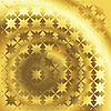 Vector clipart: Polished gold texture