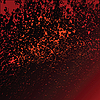 Vector clipart: Red grunge texture