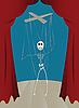 Vector clipart: puppet