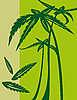 Vector clipart: Palm trees