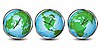 Vektor Cliparts: Weltzeituhren