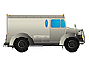 Vector clipart: Armored car