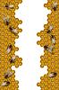 Векторный клипарт: Пчелы рабочих кадров