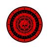Векторный клипарт: Диа-де-лос-Muertos печать