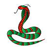 Vector clipart: Cobra