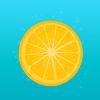 Vector clipart: Lemon and bubbles