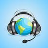 Vector clipart: World communication