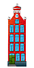 Vector clipart: Dutch house