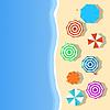 Vector clipart: Beach landscape