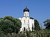 Church on the river Nerl   Stock Foto