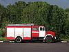 俄罗斯消防车 | 免版税照片