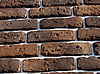 Brown brick wall | Stock Foto