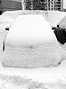 Car after snowfall | Stock Foto