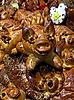 Piglet cake | Stock Foto