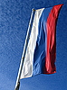 National Russian flag | Stock Foto