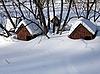 Snowed houses | Stock Foto