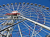 Photo 300 DPI: Large Ferris wheel in Moscow