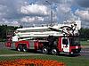 Modern fire truck | Stock Foto