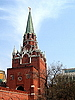 Tower in Moscow Kremlin   Stock Foto