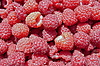 Fresh red raspberries | Stock Foto