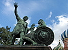 Statue of Minin and Pozharsky | Stock Foto