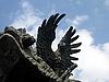 Photo 300 DPI: Stone eagle