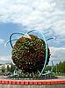 Photo 300 DPI: Unusual spherical flowerbed