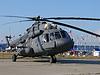 米-8俄罗斯军用直升机   免版税照片
