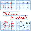 Welcome to school background | Stock Vector Graphics