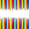 Vector clipart: abstract rainbow background