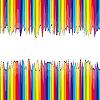 Векторный клипарт: разбитая радуга