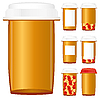 Vector clipart: medicine bottle