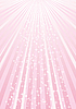Vector clipart: pink rays